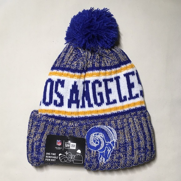 Los Angeles Rams Beanie Hat 58e928e13614